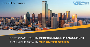 The KPI Institute and The VSR Council announce a partnership to increase performance in the US